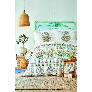 купить Постельное белье Karaca Home - Nery mavi 2020-2 Зеленый фото