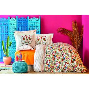 купить Постельное белье Karaca Home - Parlin fusya 2020-2 Розовый фото