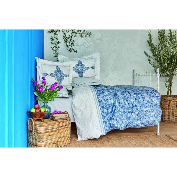 купить Постельное белье Karaca Home - Perissa mavi 2020-2 Голубой фото