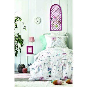 купить Постельное белье Karaca Home - Poliment pudra 2020-2 Розовый фото