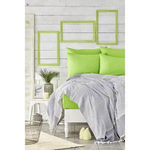 купить Постельное белье Karaca Home - Rapsody yesil 2020-2 pike jacquard Зеленый фото