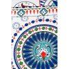 купить Постельное белье Karaca Home - Tulipa kirmizi 2020-2 Бирюзовый фото 84902