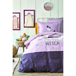 купить Постельное белье Karaca Home - Wich bordo 2020-2 пике Фиолетовый фото