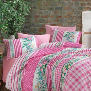 купить Постельное белье Majoli Rosli Розовый фото