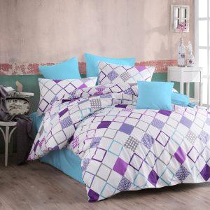 купить Постельное белье Majoli Sion v4 Фиолетовый фото