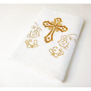купить Крыжма Lotus вышивка - с золотом