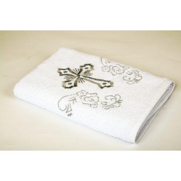 купить Крыжма Lotus вышивка - с серебром