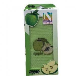 купить Кухонное полотенце Nilteks вафельное Apple 40*60
