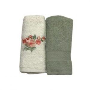 купить Набор кухонных полотенец Casabel 40*60 2 шт Зеленый
