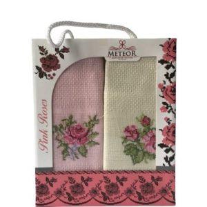 купить Набор кухонных полотенец Meteor Pink Roses 40*60 2 шт