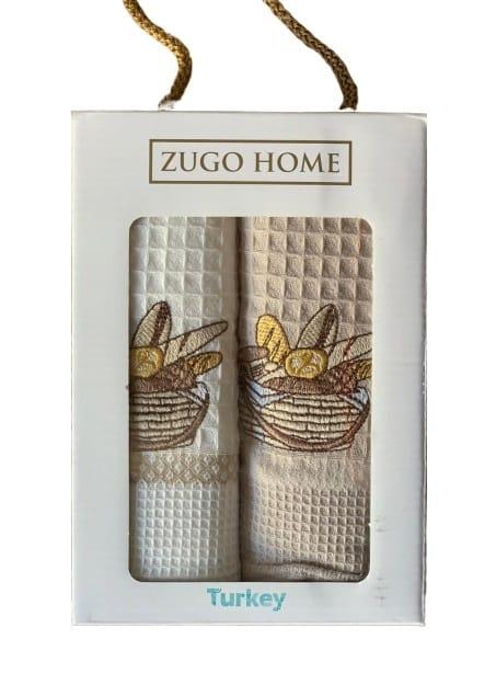купить Набор кухонных полотенец Zugo Home Bread V1 40*60 2 шт