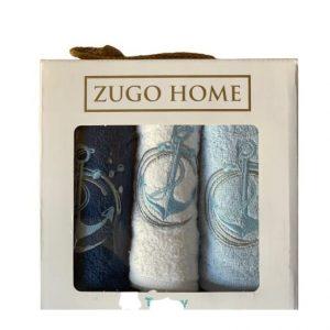 купить Набор кухонных полотенец Zugo Home Sea Anchor V1 30*50 3 шт