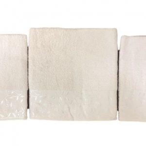 купить Набор махровых полотенец Gold Soft Life For You 50*90(2 шт) и 70*140 Кремовый