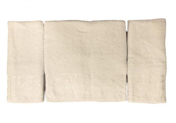 купить Набор махровых полотенец Gold Soft Life For You 50*90(2 шт) и 70*140 Крем