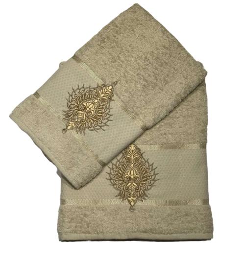 купить Набор махровых полотенец Merzuka Pera 50*90 и 70*140