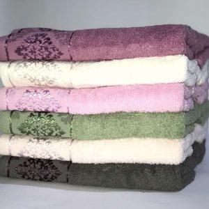 купить Набор махровых полотенец Miss Cotton хлопок Damask 50*90 6 шт