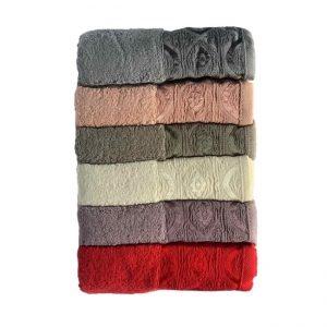 купить Набор махровых полотенец Miss Cotton хлопок Domino 6 шт