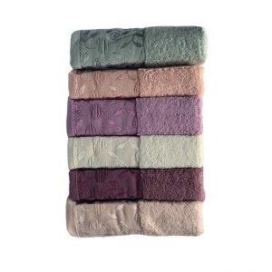 купить Набор махровых полотенец Miss Cotton хлопок For You 6 шт