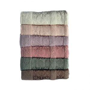 купить Набор махровых полотенец Miss Cotton хлопок Pirizma 6 шт
