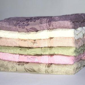 купить Набор махровых полотенец Miss Cotton Bamboo Flowers 50*90 6 шт