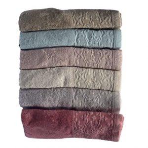 купить Набор махровых полотенец Miss Cotton Bamboo Nazende 6 шт