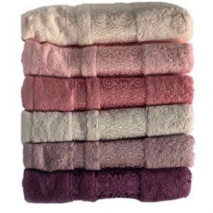 купить Набор махровых полотенец Miss Cotton Bamboo Sarmasik 70*140 6 шт