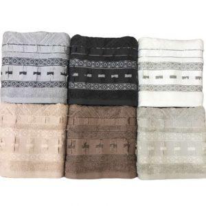 купить Набор махровых полотенец Sikel жаккард Armoni 6 шт
