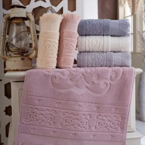 купить Набор махровых полотенец Sikel жаккард Artemiz 6 шт