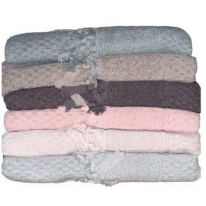купить Набор махровых полотенец Sikel жаккард Bukle Mikanos 70*140 6 шт