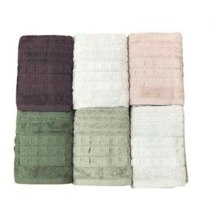 купить Набор махровых полотенец Sikel жаккард Elegan 6 шт