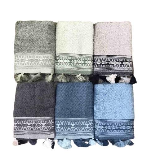 купить Набор махровых полотенец Sikel жаккард Kilim 6 шт