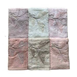купить Набор махровых полотенец Sikel 3D Bamboo Argente 6 шт