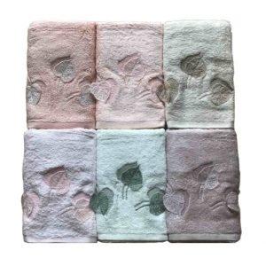 купить Набор махровых полотенец Sikel 3D Bamboo Life Time 6 шт