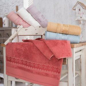 купить Набор махровых полотенец Sikel Bamboo Azuz 30*50 6 шт