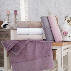 купить Набор махровых полотенец Sikel Bamboo Golge 30*50 6 шт