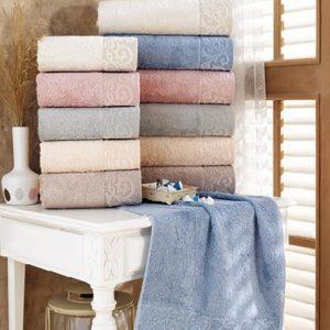 купить Набор махровых полотенец Sikel Bamboo Sonil 30*50 6 шт