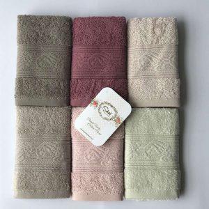 купить Набор махровых полотенец Sikel Cotton Ribella 30*50 6 шт