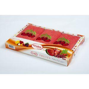 купить Набор махровых полотенец Vevien - Cherry
