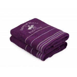 купить Набор полотенец Beverly Hills Polo Club - 355BHP1255 Fitili Purple