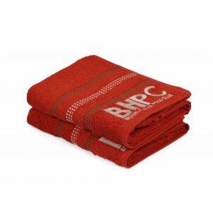 купить Набор полотенец Beverly Hills Polo Club - 355BHP1604 Botanik Brick Red