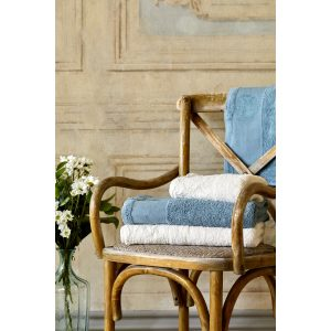 купить Набор полотенец Karaca Home - Trella krem-mavi 2020-1