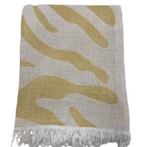 купить Пляжное полотенце Gold Soft Life pestemal Сафари 100*180 Оранжевый