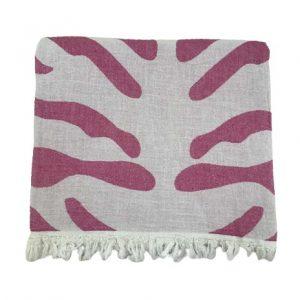купить Пляжное полотенце Gold Soft Life pestemal Сафари 100*180 Розовый