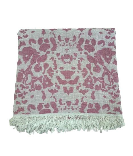 купить Пляжное полотенце Gold Soft Life pestemal Milos 100*180 Розовый