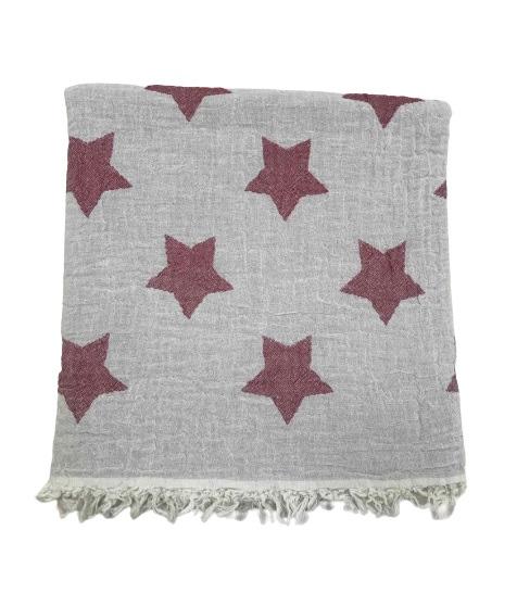 купить Пляжное полотенце Gold Soft Life pestemal Star 100*180 Красный_x000D_
