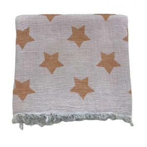 купить Пляжное полотенце Gold Soft Life pestemal Star 100*180 Оранжевый