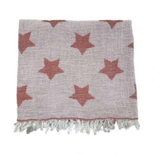 купить Пляжное полотенце Gold Soft Life pestemal Star 100*180 Розовый