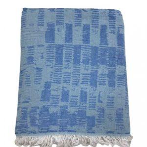 купить Пляжное полотенце Gold Soft Life pestemal Virtu 100*180 Голубой