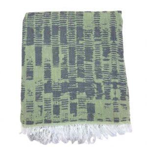 купить Пляжное полотенце Gold Soft Life pestemal Virtu 100*180 Зеленый