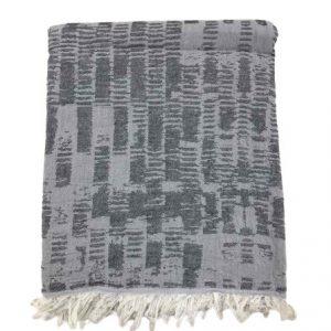 купить Пляжное полотенце Gold Soft Life pestemal Virtu 100*180 Серый